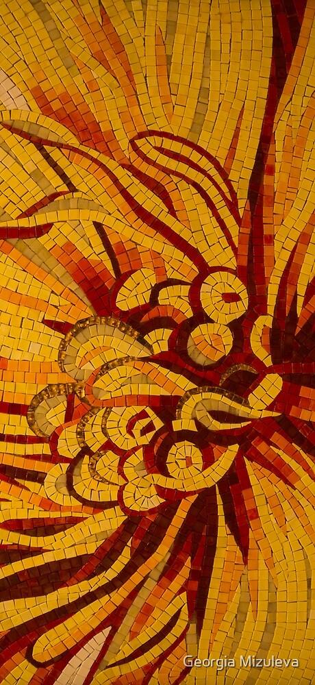 Imagination in Hot, Vivid Yellows by Georgia Mizuleva