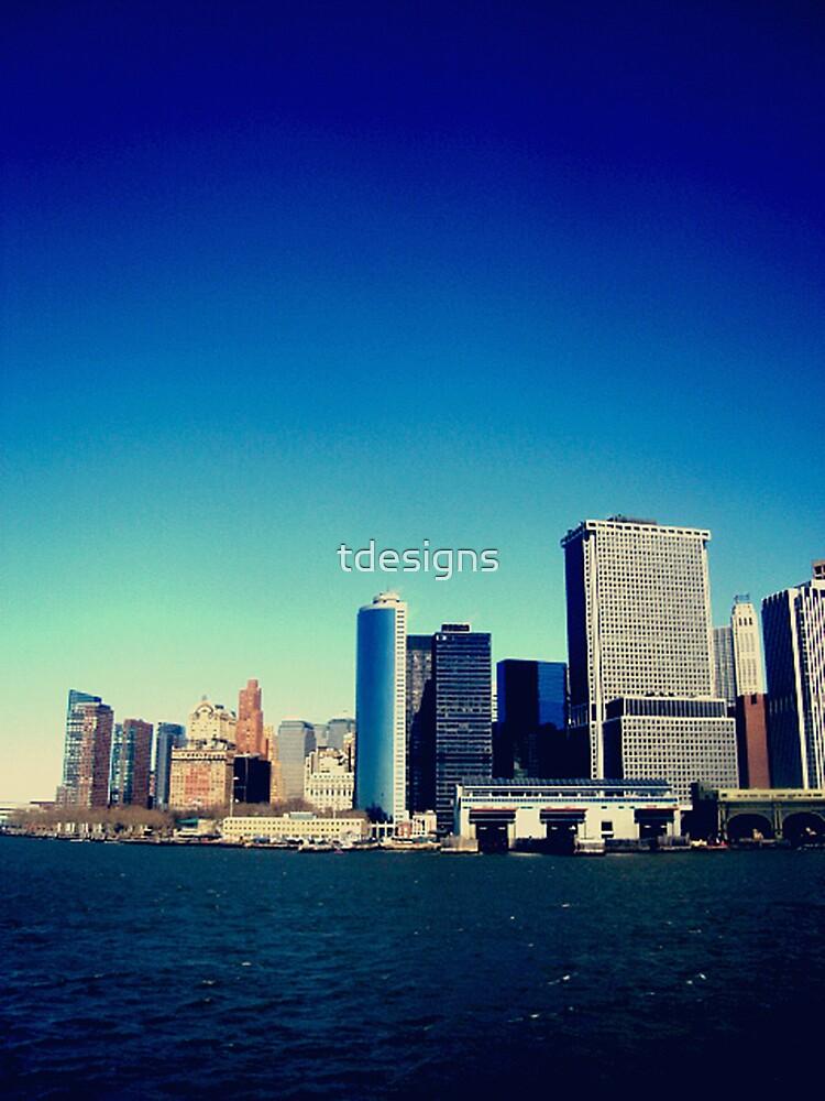 New York - Staten Island Ferry Trip by tdesigns