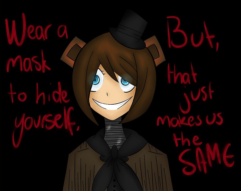 Human Freddy  by ponypieswag