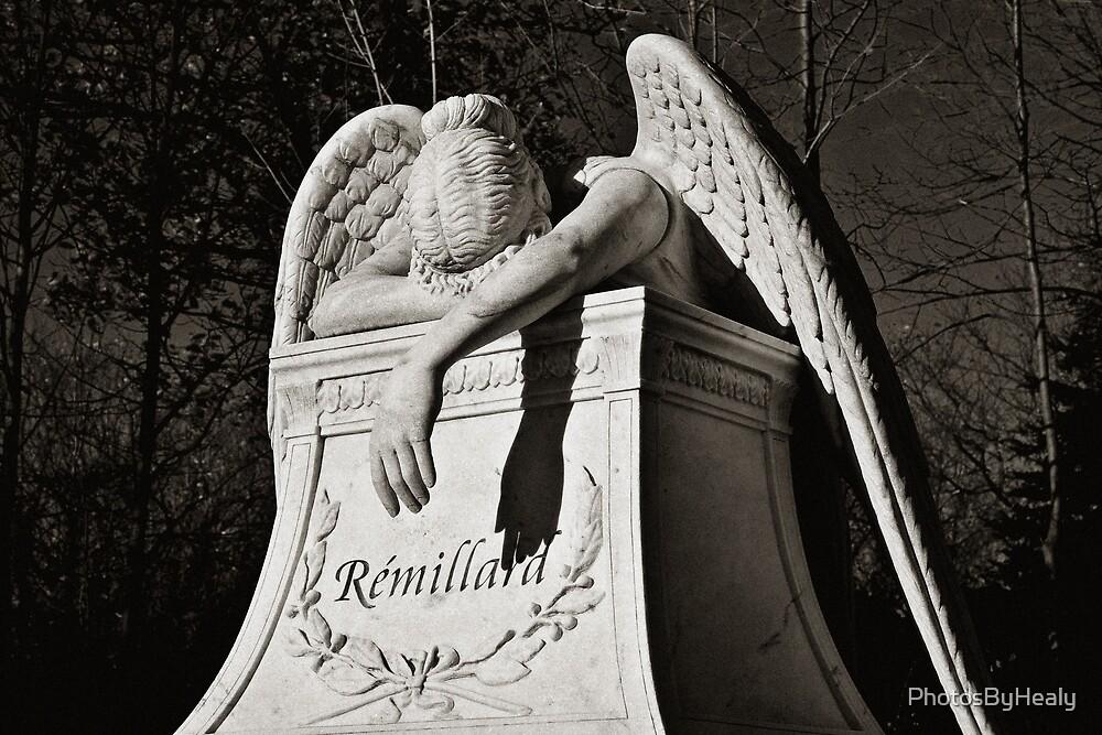 Weeping Angel II - sepia by PhotosByHealy