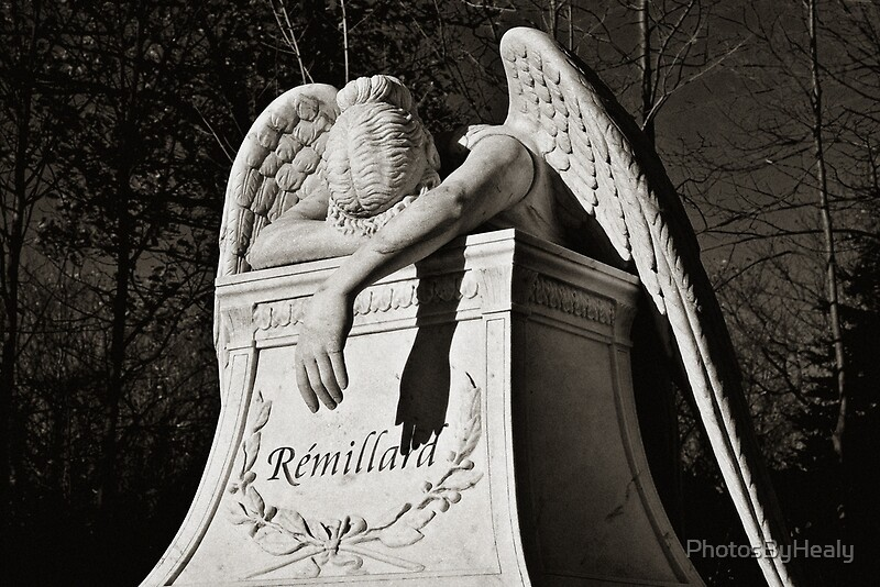 Weeping Angel II - sepia by Photos by Healy