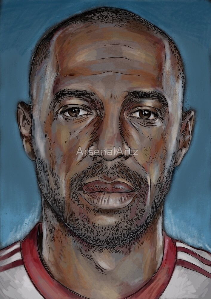 Thierry Henry by ArsenalArtz