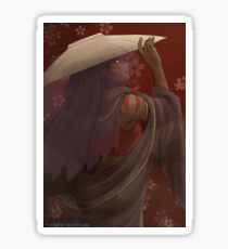 The painted lady - the Last airbender Sticker