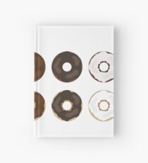 Frosted Donut Hardcover Journal