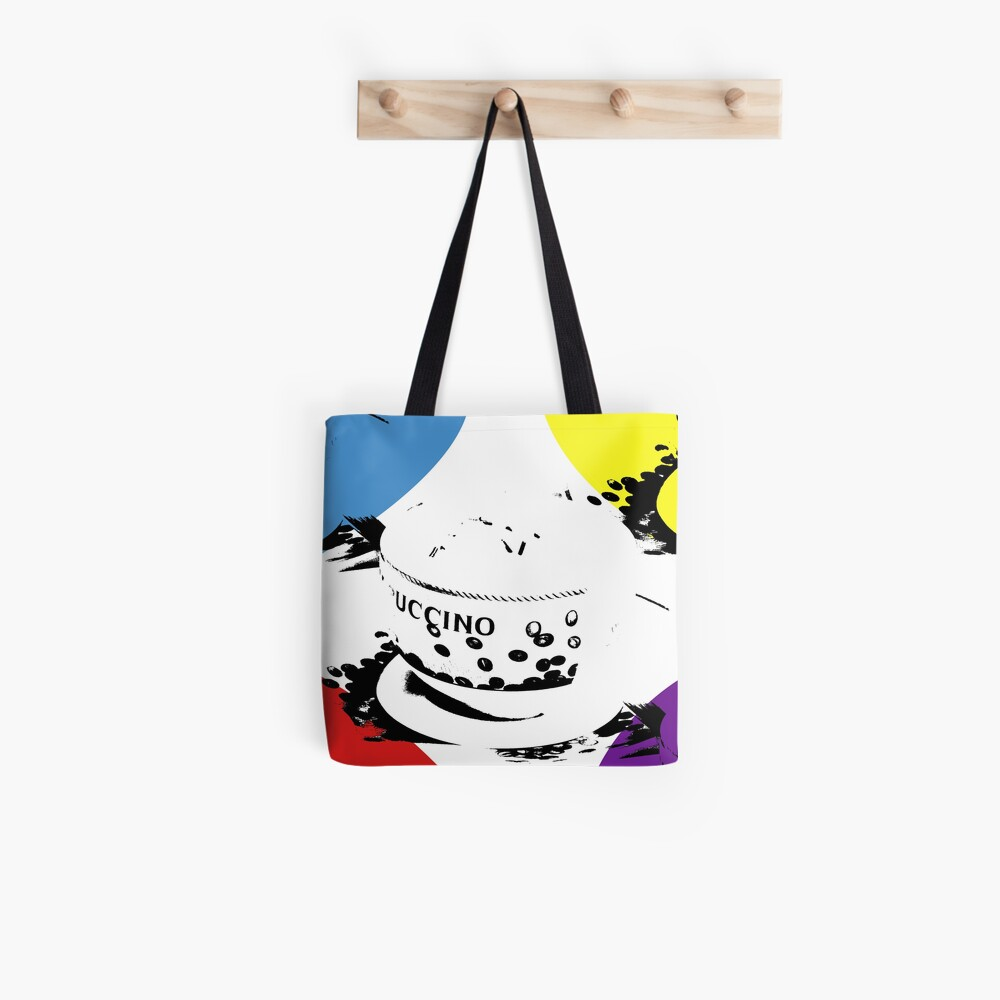 Colours of coffee Tote Bag
