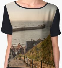 199 Steps Whitby Chiffon Top