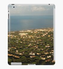 Just Before Touch Down - Fiumicino, Rome, Italy iPad Case/Skin