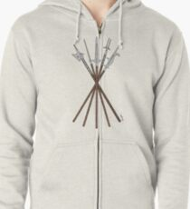 Some 16th Century Polearms Zipped Hoodie