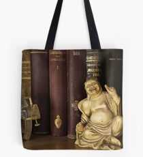 Sextant and Smiling Buddah Tote Bag