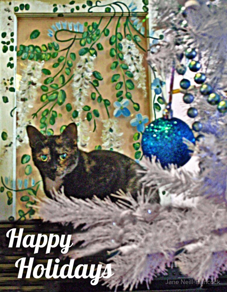Feline Happy Holidays by Jane Neill-Hancock