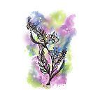 Watercolor Flowers by Amy Harrington