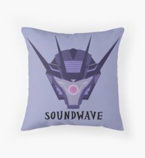 Superior Soundwave Throw Pillow