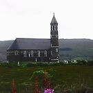 Church in the rain - Donegal, Ireland by Shulie1