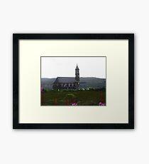 Church in the rain - Donegal, Ireland Framed Print