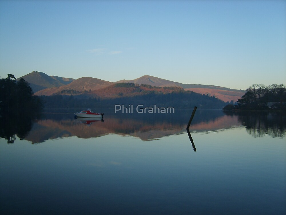 Sleeping boat by Phil Graham