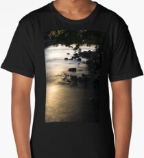 Reflets sur le fleuve @ Sol'So Photografée Long T-Shirt