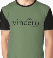 Vincerò Fermata Grafik T-Shirt