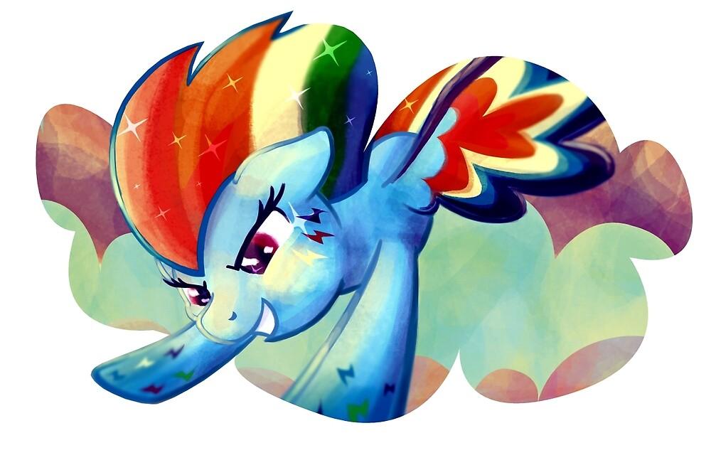 Rainbow Power Rainbow Dash by GhostlyMuse
