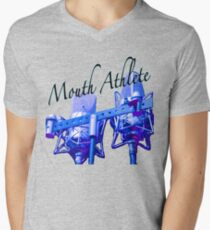 Mouth Athlete Men's V-Neck T-Shirt
