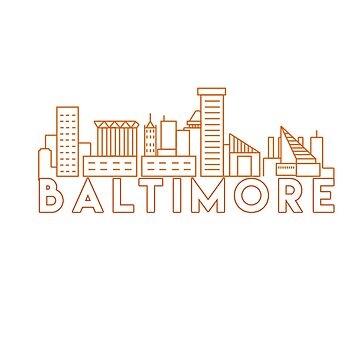 Baltimore Maryland by fantedesign