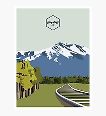 HOME - Flagstaff Photographic Print