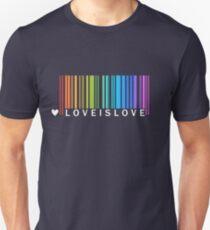 Love is Love - LGBT Pride t-shirt Unisex T-Shirt
