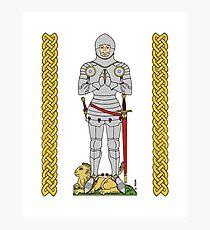 English Knight Circa 1430 Photographic Print