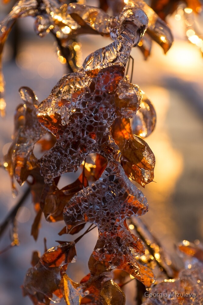 Oak Leaves Jewelry by Georgia Mizuleva