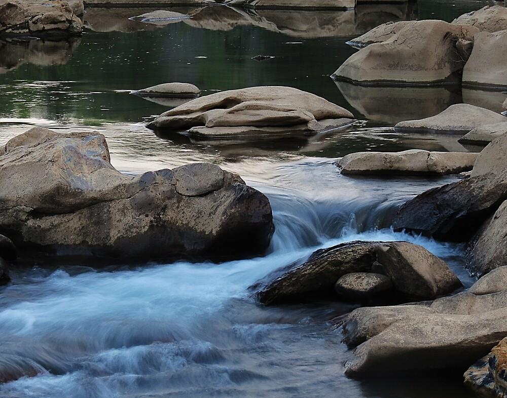 Ocoee River Flowing by Roger Easley