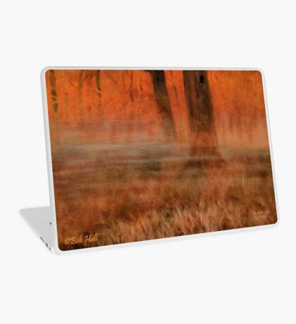 EARLY MORNIN' IN GEORGIA, Acrylic Painting, for prints and products Laptop Skin