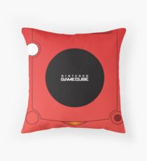 Nintendo Gamecube Red Edition Throw Pillow