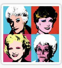 Warhol Girls Sticker