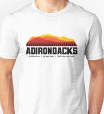 Adirondack Mountains - New York Unisex T-Shirt