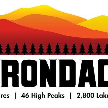 Montañas Adirondack - Nueva York de ryewilcox