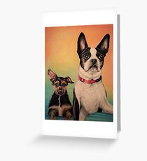Little Friends Greeting Card
