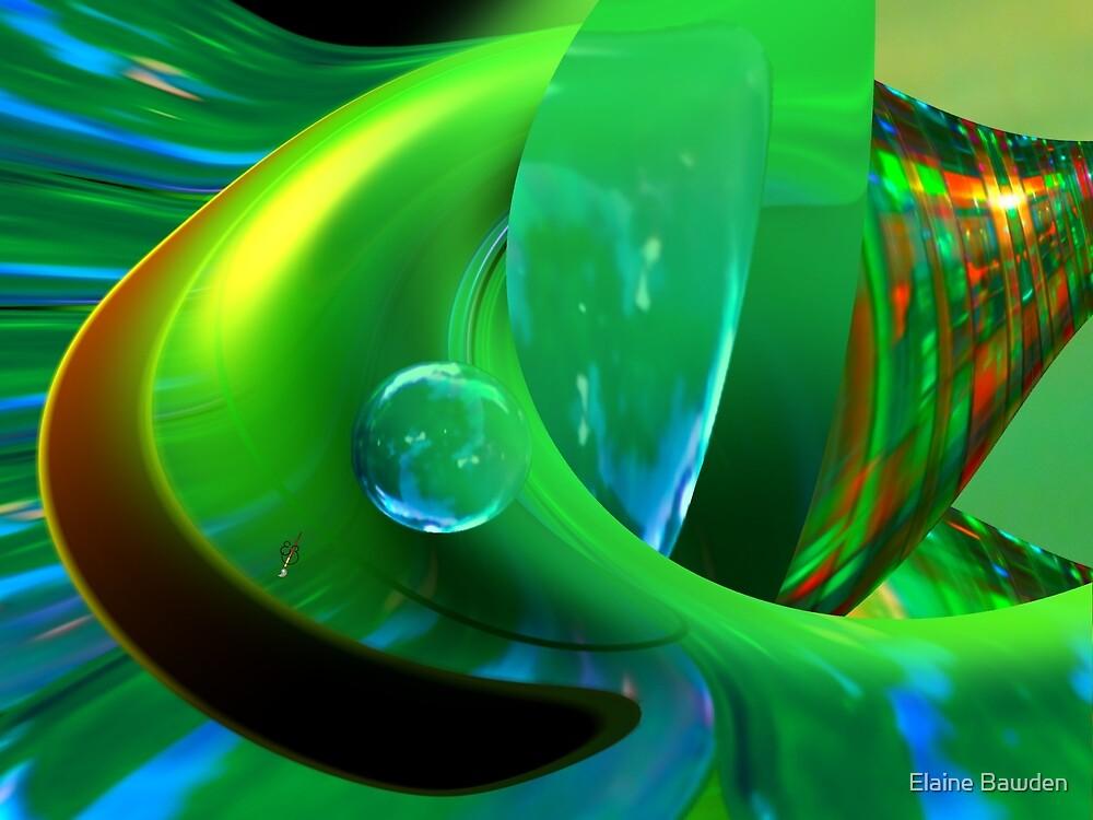 Liquid Green by Elaine Bawden