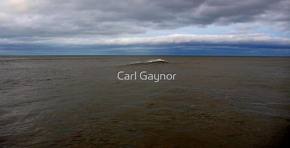 North Sea - Ttiptych  - ( East Coast - England ) by Carl Gaynor