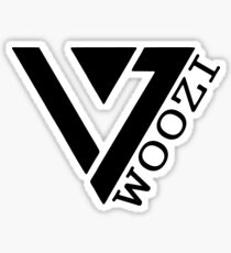 Woozi 17 Logo Sticker