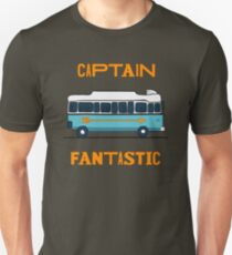 captain fantastic bus Slim Fit T-Shirt