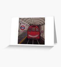 Nowhere Tube Greeting Card
