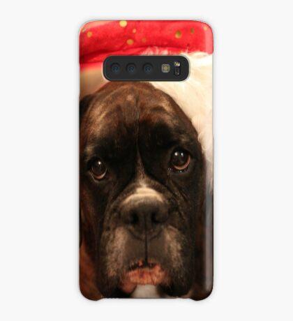 Die Grüße der Jahreszeit - Boxer Dogs Series Hülle & Klebefolie für Samsung Galaxy