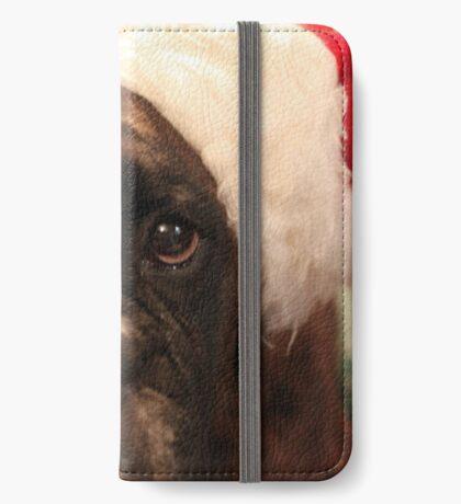 Die Grüße der Jahreszeit - Boxer Dogs Series iPhone Flip-Case