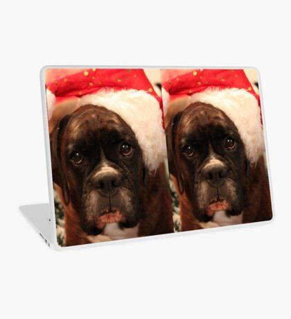 Die Grüße der Jahreszeit - Boxer Dogs Series Laptop Folie