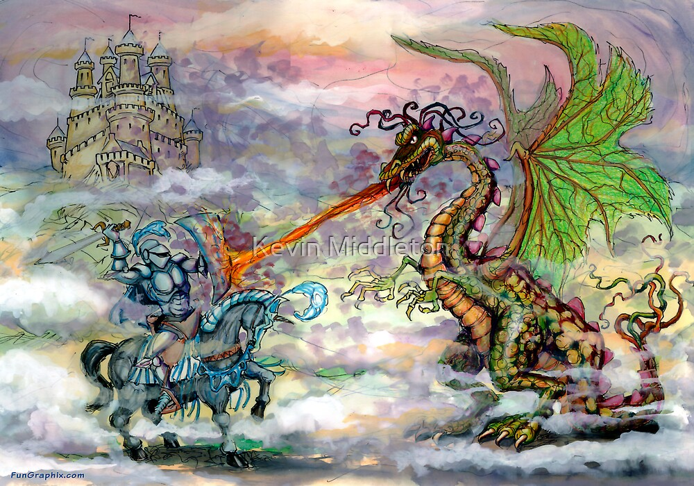 Knights & Dragons by Kevin Middleton
