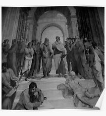 The School of Athens II Poster