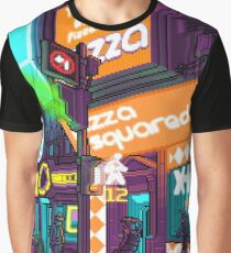 PIZZA SQUARED - Bloor West and Dovercourt Graphic T-Shirt