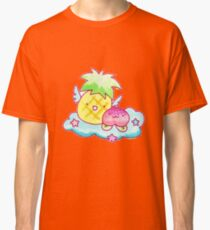 Pineapple and Peach Fruit Angels Classic T-Shirt