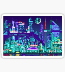 NEODOT CITY SKYLINE - Sector 6 Lake Sticker