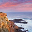 Cape Nelson Lighthouse, Portland, Victoria, Australia by Michael Boniwell