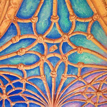cloister domes. Mosteiro dos Jerónimos by terezadelpilar